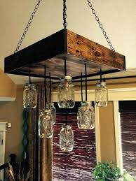 wagon wheel chandelier mason jars wagon wheel chandelier new pallet chandeliers with mason jars how to