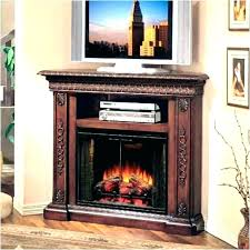 corner electric fireplace stand southern enterprises convertible cherry tv