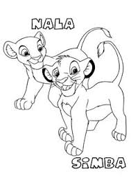Small Picture Lion King Coloring Page Print Lion King pictures to color at