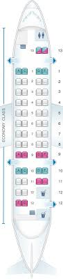 Dhc 8 400 Dash 8q Seating Chart Seat Map Air Canada Bombardier Dash 8 300 Seatmaestro