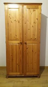 2 door wooden wardrobe 84x50x180
