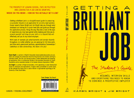 print getting a brilliant job book cover design raysumé book cover design