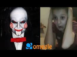 billy the puppet goes on omegle