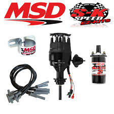 msd wiring msd 99113 ignition kit ready to run distributor wires coil chrysler bb 426