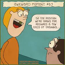 Cartoon Comics Work And Humor Unearthed Awkward Moment Office