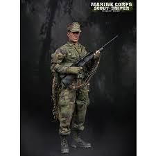 Marine Corps Scout Sniper Monkey Depot Damtoys Marine Corps Scout Sniper 93018