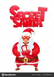 Secret Santa Cards Template Secret Santa Claus Invitation