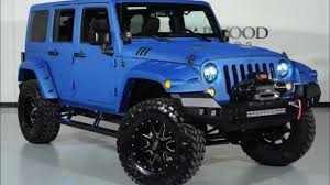 2018 jeep wrangler unlimited kevlar coated lifted custom leather you