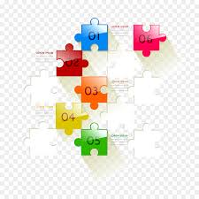 Jigsaw Puzzles Graphic Design Infographic Vector Puzzle Ppt