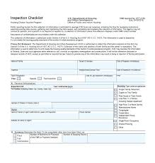 Home Inspection Checklist Template Excel Free House
