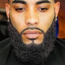 Black Men Beard Chart Pin On Beard Styles