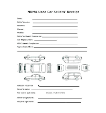 Auto Sales Receipt Template Used Car Receipt Of Sale Template Free Bill Sales Private