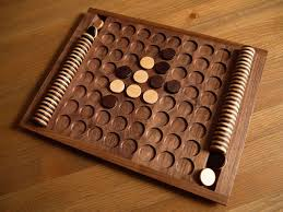 Wooden Othello Board Game japanese board game similar to the reversi Artistic Woodworking 7