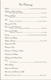 sample wedding ceremony program the 25 best wedding programs wording ideas on pinterest wedding