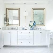 beveled bathroom vanity mirrors. Beveled Bathroom Vanity Mirror White Dual With Gold Beaded Mirrors . O