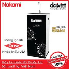Máy lọc nước RO Nakami NKW-00010H chính hãng, bảo hành 5 năm (10 cấp) -  4,575,000