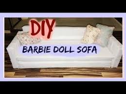 diy barbie doll sofa dollhouse furniture barbie doll furniture patterns
