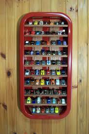 creative diy hot wheels display case using an old wagon