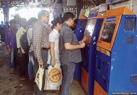 How To Use Ticket Vending Machine In Railway Station Beauteous Western Railway's Diwali Gift To Mumbai 48 ATVMs News