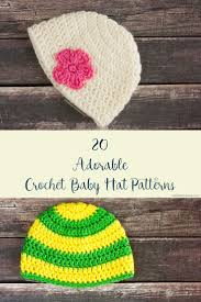 Free Crochet Patterns For Baby Hats Interesting 48 Adorable Free Crochet Baby Hat Patterns