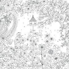 Secret Garden Coloring Book Finished Pages Dreadeorg
