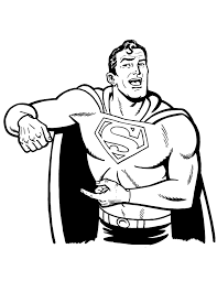 Small Picture Free Printable Superman Coloring Pages H M Coloring Pages