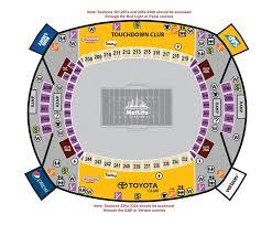 Metlife Seating Chart One Direction Metlife Stadium Seating Chart Pdf