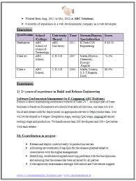 Graduate Resume Format Download Page 2 Career Pinterest