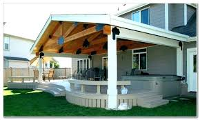 cost to build covered patio full size of cover fresh by how throughout inspirations 5