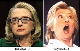 Image result for hillary clinton with her mouth open