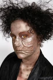 character hibia model se makeup brooklyn prior acosta prosthetic nose