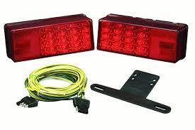 Wesbar Trailer Lights Walmart Stop Light Wesbar Led Low Profile Trailer Light Kit Red