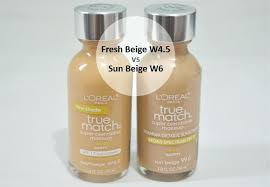 l oreal true match w4 true match foundation review loreal true match w4 mac