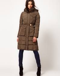Brown Quilted Coat | Fashion Women's Coat 2017 & Long Quilted Coat With Hood - Quilting Galleries … Adamdwight.com