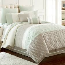 amrapur overseas palisades embroidered 8 piece comforter set