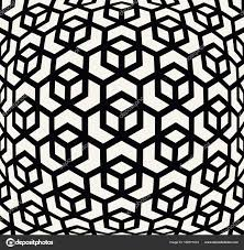 Trippy Pattern Amazing Seamless Geometric Line Grid Vector Trippy Pattern Stock Vector
