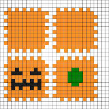 17 best ideas about hama beads halloween hama beads neat way to make a box just not for halloween by on kandi patterns pumpkin halloween perler bead pattern