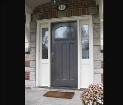 front door with sidelitesDoors Fiberglass Front Door With Sidelights And Combination White