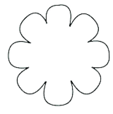 big flower coloring pages flower outline coloring page coloring flower big flower template coloring page high