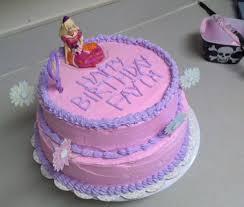 Little Girls Barbie Birthday Cake Cakecentralcom
