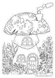 Small Picture magical The Storytellers Abode COLORING PAGES HOUSES