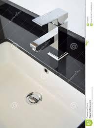 Modern Bathroom Taps Modern Bathroom Taps Stock Photo Image 61296362