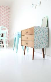 furniture motifs. Wallpapered Furniture. Clever #kids #decor Furniture Motifs O
