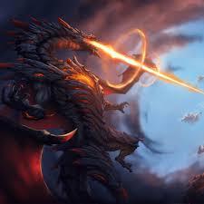 2932x2932 Dragon Attack Fire Blast 4k ...