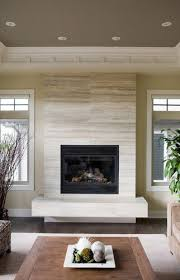 Limestone fireplace tile. Houzz. | Fireplace inspiration | Pinterest |  Houzz, Moldings and Living rooms