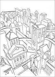 Small Picture Gotham City Batman Coloring Pages Batman Coloring Pages