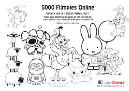 Kinderfilmpjes 5000 Filmpjes Online Kleurplaat Actie Vinden