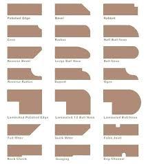 quartz countertop edges quartz edge options quartz edge options and onyx details
