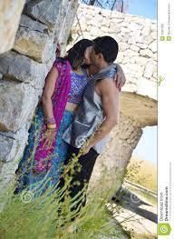 Loving Kiss stock image. Image of stone ...
