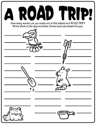 Small Picture A Road Trip Coloring Page crayolacom